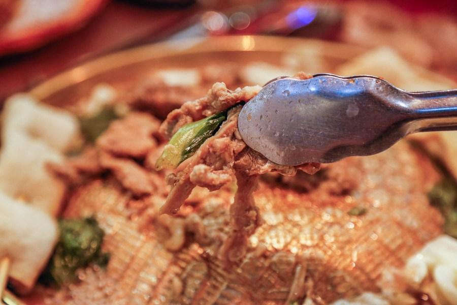 [中壢美食]高麗園銅盤烤肉 大江店|韓式銅盤烤肉吃到飽.慶開幕四人同行一人免費/每人409元再搭配經典二十道韓食 @VIVIYU小世界
