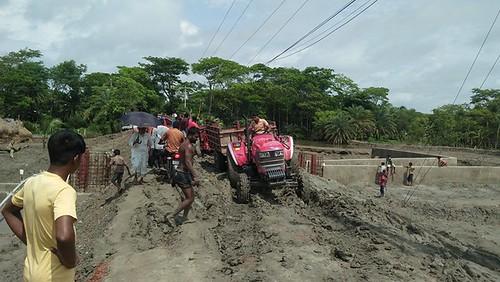 kalapara   pic  - 29.06.2020 - break road of troly