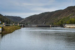 Moselle River - Nearing the Lock