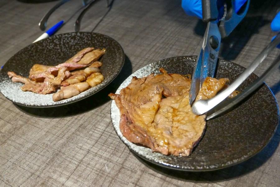 [台中美食]森森燒肉.洲際店|臺中市洲際棒球場附近新開日式燒肉店‧多種套餐組合依需要做選擇‧自助沙拉吧飲料無限使用吃到飽 @VIVIYU小世界
