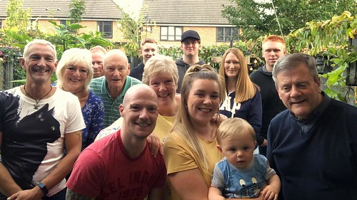 Today is all about...surprise family get together for the husby's 50th