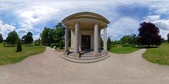 Neustrelitz - Schlosspark, Luisentempel 360 Grad