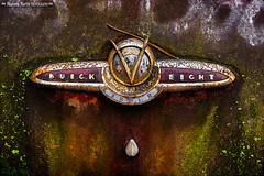 Buick Super Eight trunk emblem