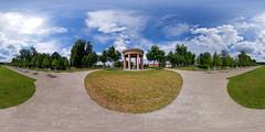 Neustrelitz - Schlosspark, Hebetempel 360 Grad