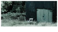 Corrugated Shed - Cnwch Coch