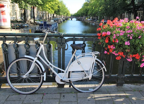 """Bike on the bridge - Amsterdam, Netherlands • <a style=""""font-size:0.8em;"""" href=""""http://www.flickr.com/photos/104409572@N02/50207057788/"""" target=""""_blank"""">View on Flickr</a>"""