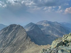 View of Ellingwood Point from the summit of Blanca Peak