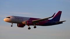 WizzAir HA-LJD Airbus 320 Neo Katowice Airport