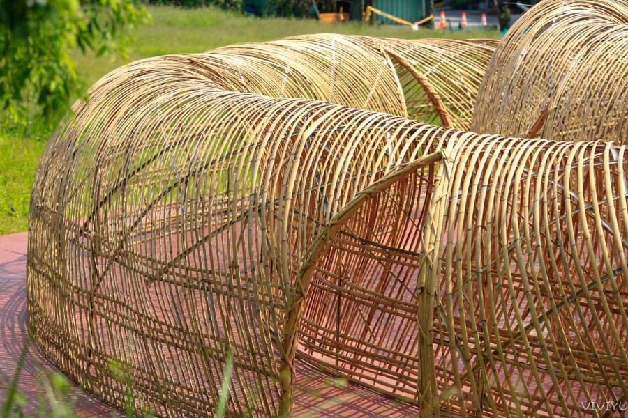 [桃園旅遊]2020桃園地景藝術節|中壢大崙、平鎮雙連坡雙展區~「構築城市」為主題/以「竹」為材料.28件藝術品/交通方式 @VIVIYU小世界