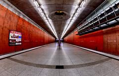 München; U-Bahnhof Messestadt-West