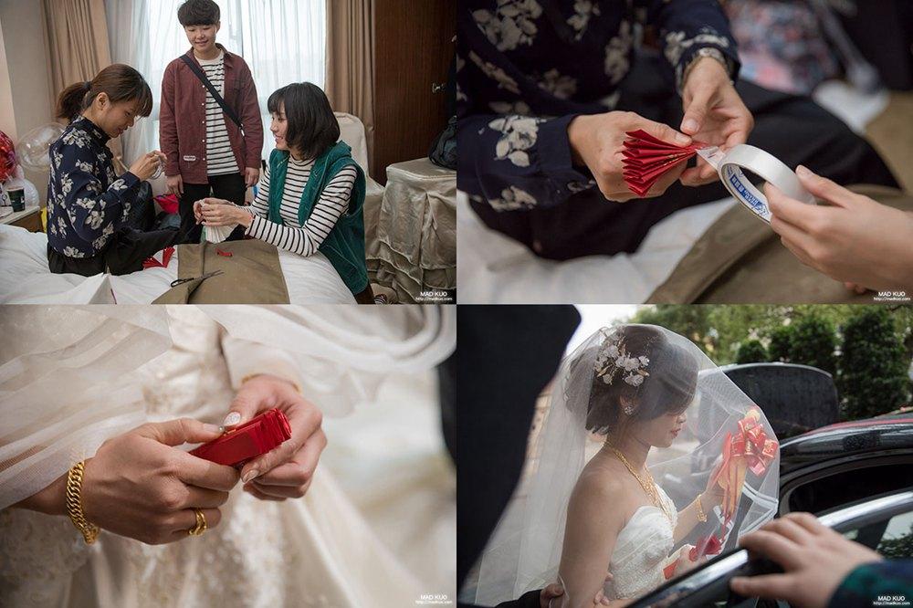 婚禮突發狀況_沒帶到捧花跟扇子