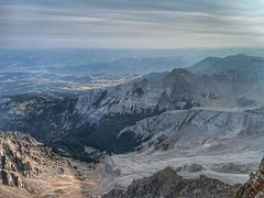 Mount Sneffels summit looking northwest