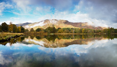 Derwent water cloud & mist