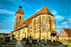 HDR_St. Laurentius Kirche Roßtal