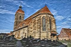 Kreativ Photo _ St. Laurentius Kirche Roßtal