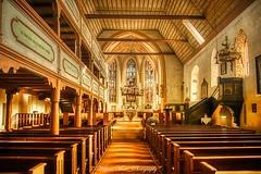 Innenraum_St. Laurentius Kirche Roßtal