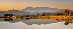 Sunrise on Las Gallinas Pond