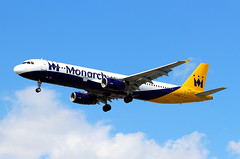 G-OJEG Airbus A321-231 Monarch Airlines