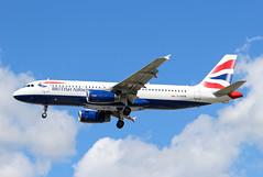 G-GATN Airbus A320-232 British Airways