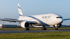 4X-ECC El Al Israel Airlines Boeing 777-258(ER) EIDW 9-12-19 (1 of 1)