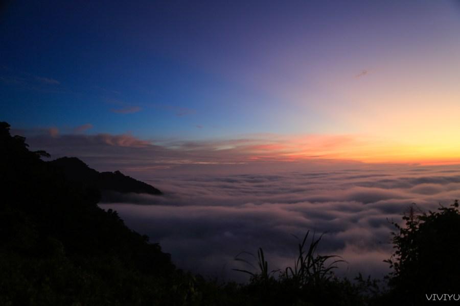 [嘉義旅遊]梅山景點.太平雲梯|隱藏在雲霧之中的浪漫美景~夕陽時分閃耀的雲海光芒 @VIVIYU小世界