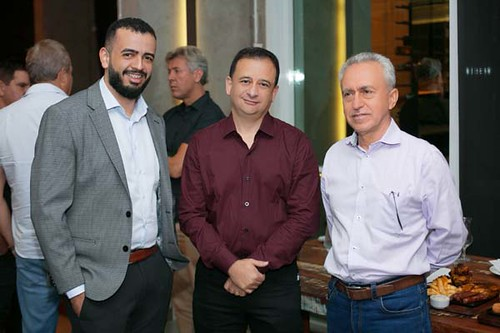 Welington Felipe, Renato Fontes e Luís Peixoto