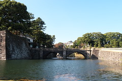 皇居、二重橋 Double bridge of the Imperial Palace