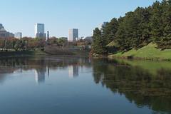 桜田門付近から半蔵門方面を見た景色A view of Hanzomon from the vicinity of Sakuradamon