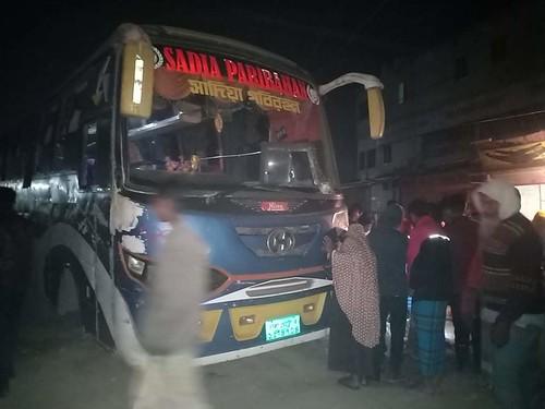 Gazipur-(4)- 07 January 2021-Road Accident At Porabari