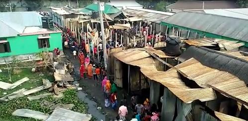 Gazipur-(1)- 11 January 2021-Fire At KLK (Four Dead Including Couple)-1