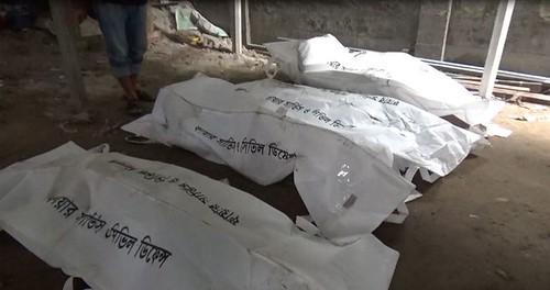 Gazipur-(1)- 11 January 2021-Fire At KLK (Four Dead Including Couple)-4