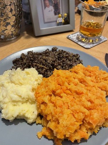 Today is all about...Burns Night 2021