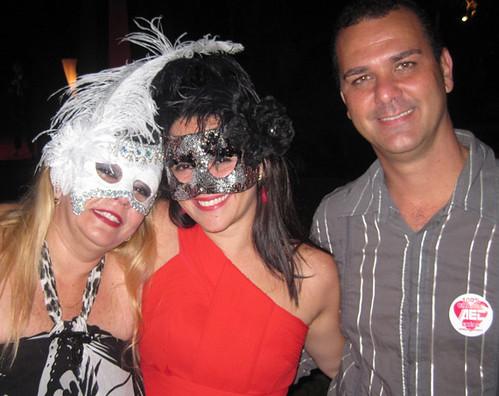 Helenir recebe Poliana Guzzo e Ramon