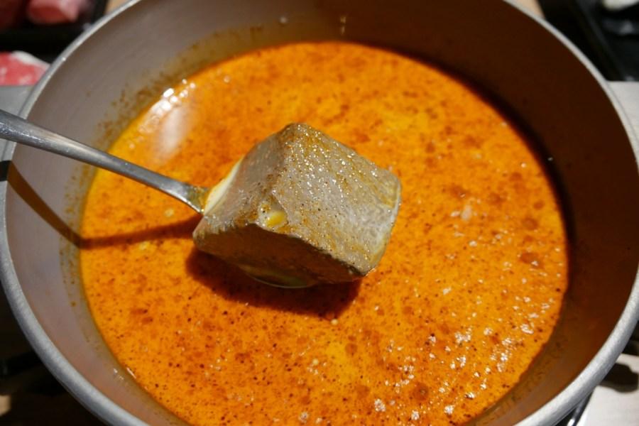 [桃園美食]廢片2.0-頰赤鍋物|夫妻肺片新推出的個人麻辣鍋~鍋底鴨血豆腐好入味! @VIVIYU小世界