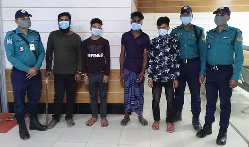 Gazipur-(1)- 27 February 2021-Followup-4 Youth Arrested For College Student Murder At Kashimpur