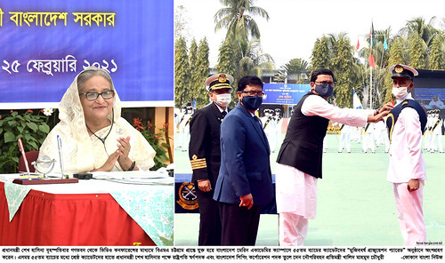 25-02-21-BD PM_BD Marine Academy 55th Batch Mujib Year Graduation Parade-8