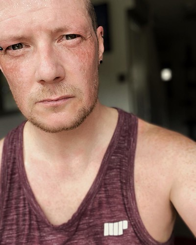 Today is all about...a nice and sweaty lunchtime run