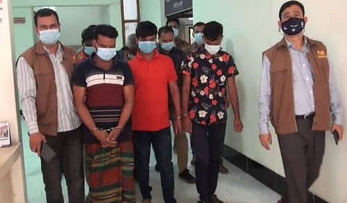 Gazipur-(1)- 31 March 2021-Seven Inter District Theft Arrested Including Riksaw