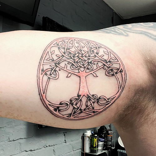 Today is all about...tattoo #10 - tree of life