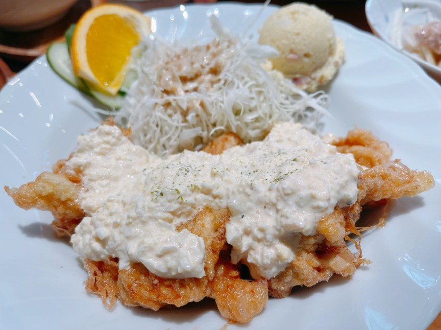 [桃園美食]島国洋食|寶山街旁平價日式定食、經典漢堡排、南蠻炸雞與炸牡蠣 @VIVIYU小世界