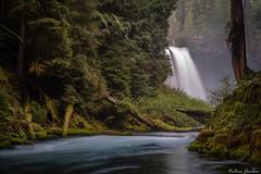 Corner. Koosah Falls
