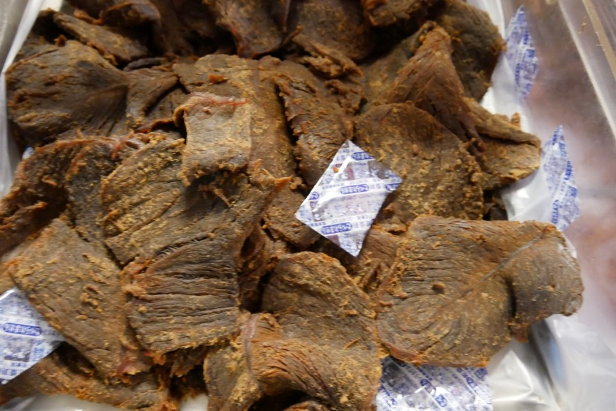 [桃園美食]日月香肉鬆|朝陽公園旁隱藏在巷弄之中的在地老店~鮮肉製作的肉鬆.肉脯 @VIVIYU小世界