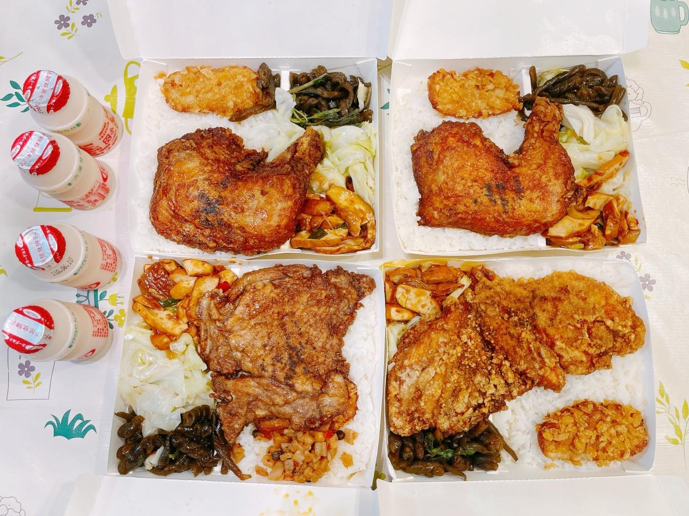 [桃園美食]巧米雞腿大王.桃鶯店 招牌必點雞腿飯.先醃再炸吃的到肉汁~比臉大的雞排飯 @VIVIYU小世界