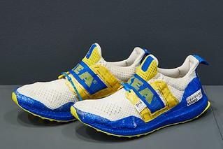 Edmond Looi customised adidas IKEA Ultraboost