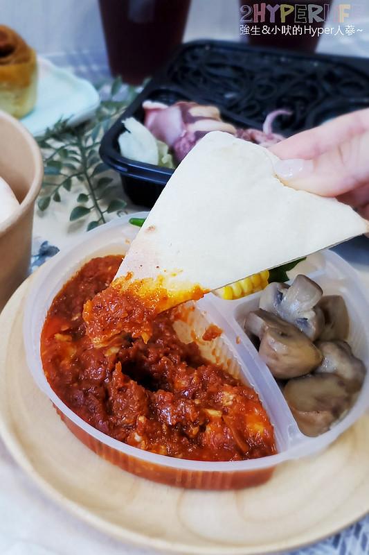 51263190666 20eb92061c c - 這家義式小館的外帶精緻餐盒價格挺實惠,190元就能吃到整隻鹽煮透抽義大利麵!