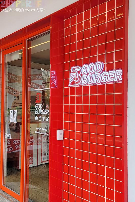 51294347815 04cb43557d c - 一中商圈有點潮的美式漢堡店~GOD BURGER 很堡,紅白配色外觀吸睛!