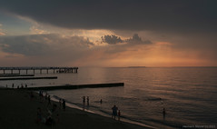Вечер на море / Evening by sea / Abends am Meer