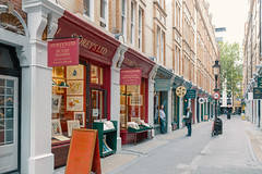 Almost lockdown in July 2020: Cecil Court