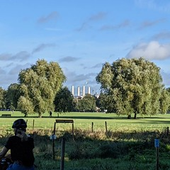 Battersea Power Station from Clapham Common