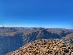 Looking south from the summit of Sunshine Peak